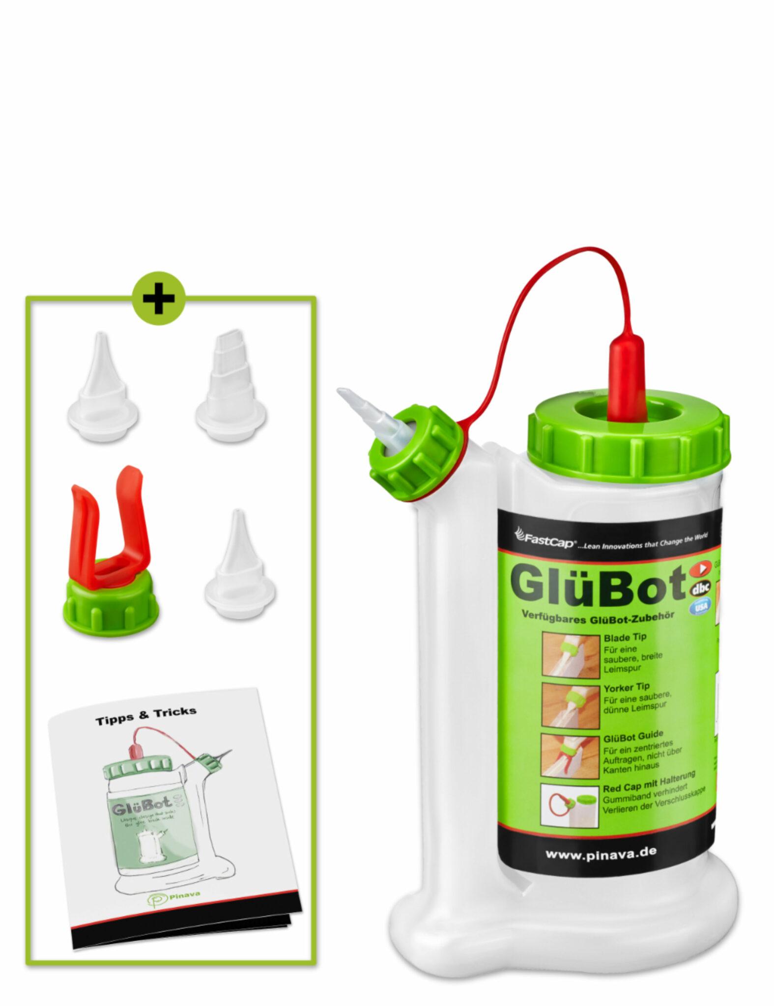 glubot glübot gluebot Leimflasche Leimspender für Holzleim