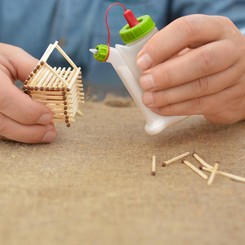 BabeBot 2 Leimflasche Leimspender für Holzleim Leim und Klebstoffe Basteln und Profi Arbeit Tischler