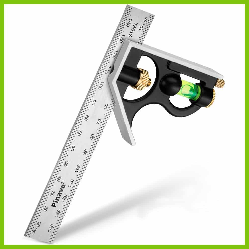 Die dauerhaft tiefen-gelaserten & doppelt geschwärzten Ziffern bieten dir schnelles und exaktes Messen in jeder Position. Das Edel-Stahllineal mit einer Dicke von 1,8mm ist 100% rostfrei, entspiegelt und leichtgängig verstellbar!